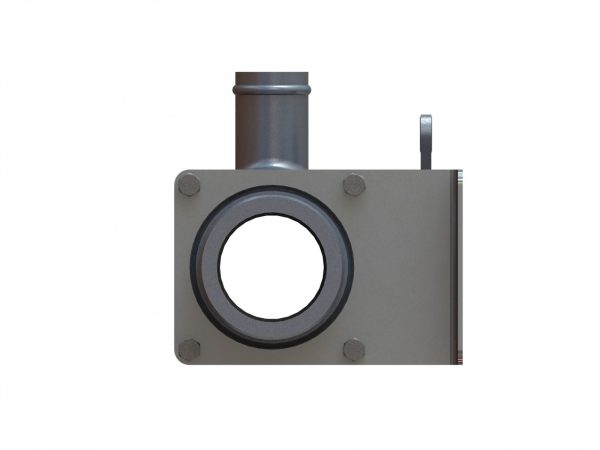 "20385Q Aluminum 2.5"" Q.D. Spray Valve, Q.D. Outlet"