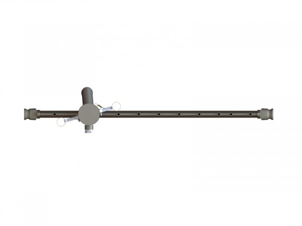 59029 Stainless Steel Center Boom with Strainer