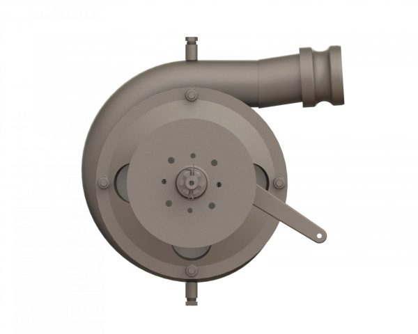 """56605 Stainless Steel 6.5"""" Spray Pump Wind Driven with Brake"""