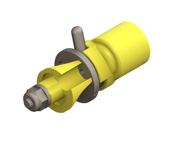 CP-09-3P Poly Straight Stream Nozzle