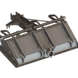 "25150 Fire Gate Box 38"" Hydraulic"
