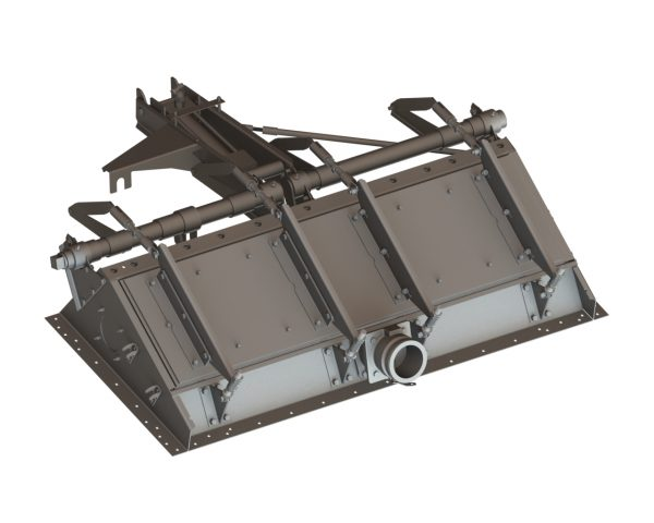 """52502 Fire Gate Box Kit 38"""" for Air Tractor 502"""