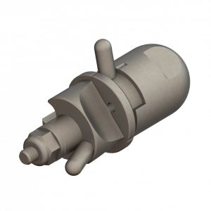 CP-07-3E Stainless Steel Straight Stream Nozzle