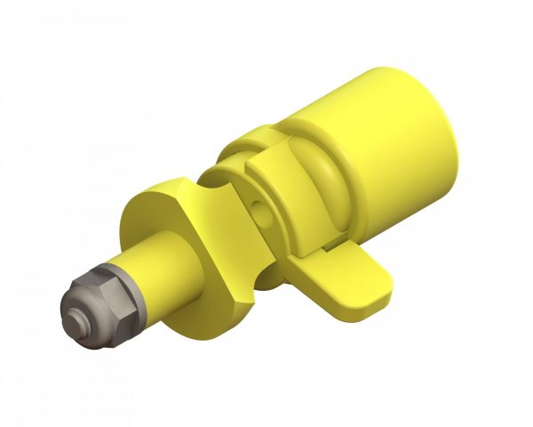 CP-03-05 Poly Aerial Nozzle 5 Orifice with 3-Way Deflection