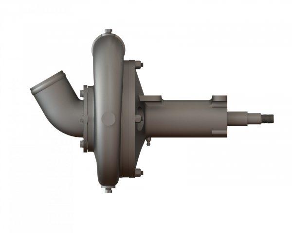 "21987 Aluminum 6.5"" Spray Pump Wind Driven"
