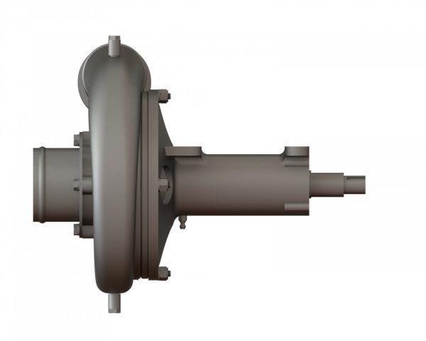 """55604 Stainless Steel 6.5"""" Spray Pump Wind Driven, No Brake"""