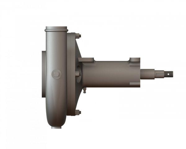 "21992 Aluminum 6.5"" Spray Pump Wind Driven"