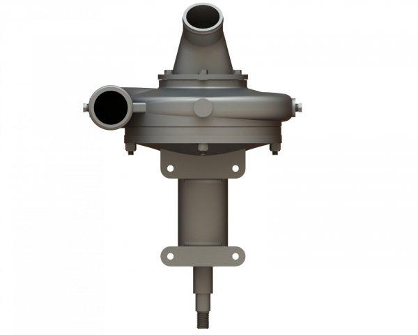 "21985 Aluminum 6.5"" Spray Pump Wind Driven"